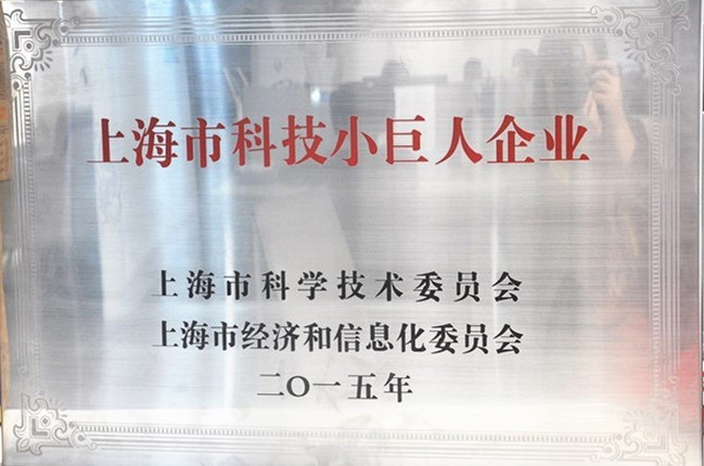 上海市科技小巨人(培育)企业