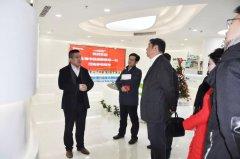 <b>上海市经信委副主任戎之勤一行莅临新利官方网站下载环保参观考</b>
