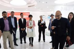 <b>French Technical Innovation Research Group Visited Techase</b>