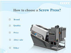 <b>How To Choose a Screw Press</b>