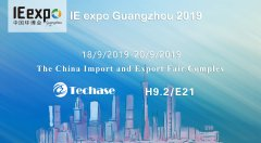 <b>Techase   Stunning Appearance at IE EXPO Guangzhou</b>