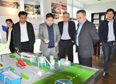 上海市科委秘书长马兴发一行来我公司调研指导