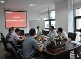 上海市杨浦区副区长徐彬一行莅临我公司视察指导